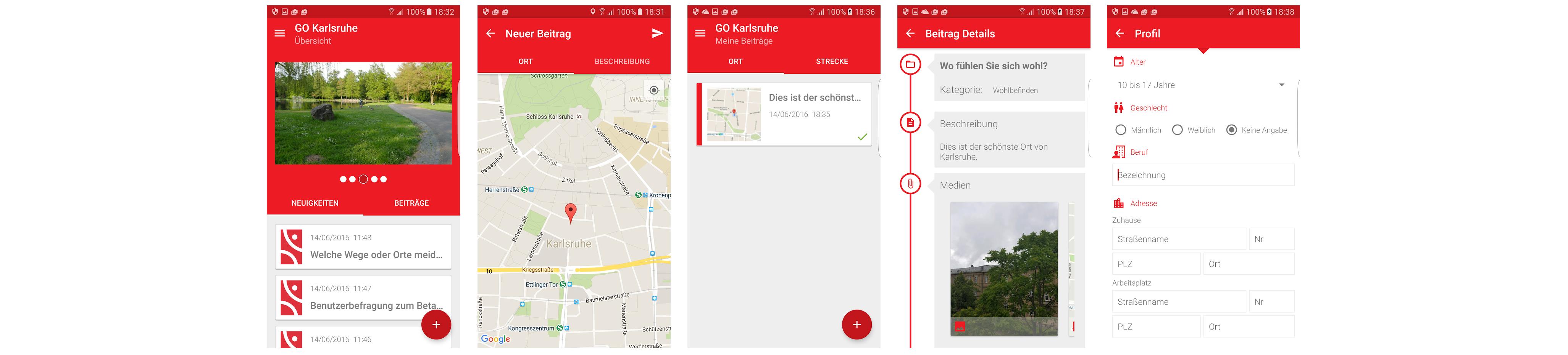 GO Karlsruhe App installieren und Mängel melden!