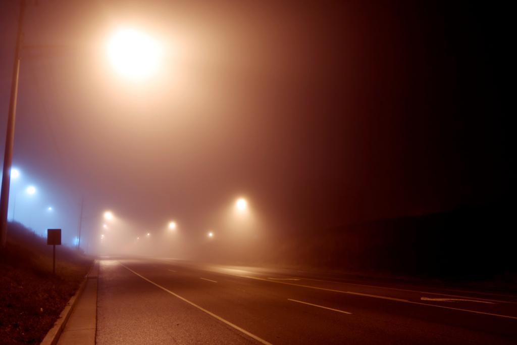 Wo sind Wege schlecht beleuchtet?