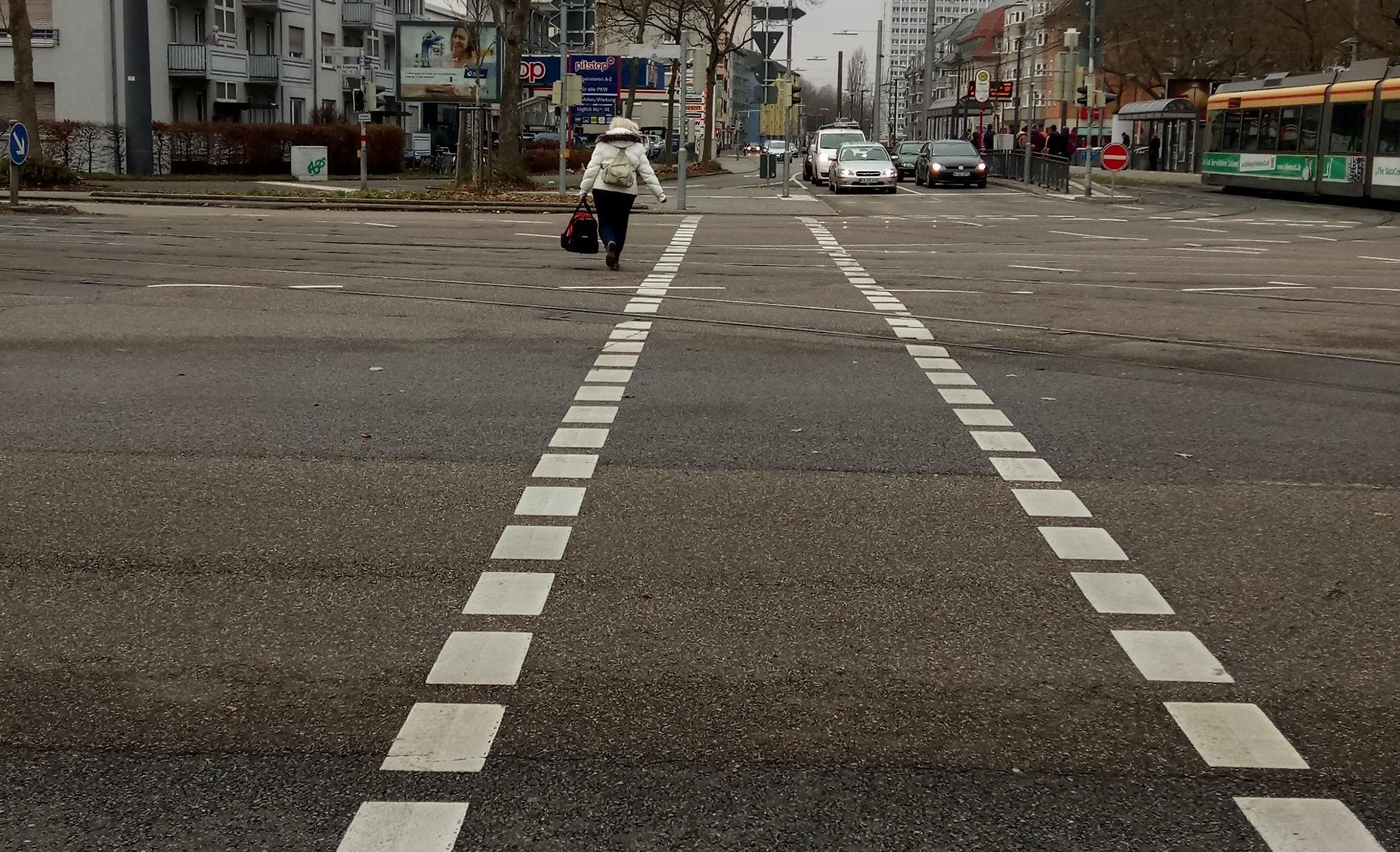 Mängel gemeldet: Fehlende Fußgängerampeln