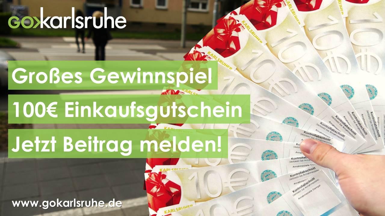 Großes GO Karlsruhe Gewinnspiel!
