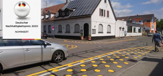 Abstimmen für den Fußverkehr, für Karlsruhe!